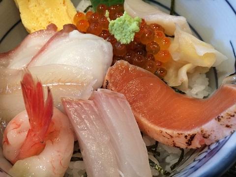 50海鮮丼3