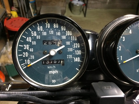 80到着267マイル