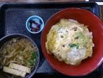 かつ丼とミニうどんのセット@湯楽亭