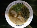 豚骨らーめん@山中製麺所