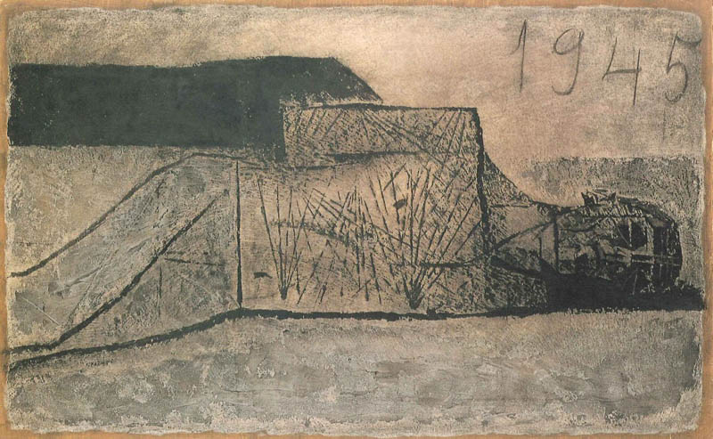 香月泰男_1945