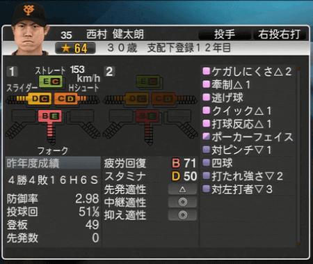 西村健太郎  スピリッツ2015 ver1.06