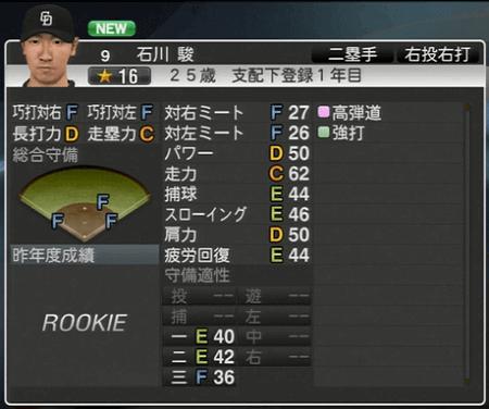 石川駿 プロ野球スピリッツ2015 ver1.07