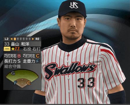 畠山和洋 プロ野球スピリッツ2015 ver1.07