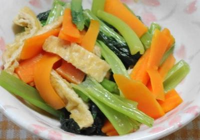 小松菜のたいたん