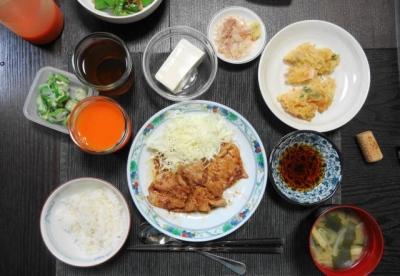 豚の生姜焼き+α定食?