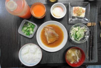 赤魚の煮付け、一汁三菜ご藩