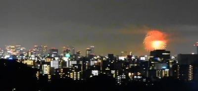 江坂~梅田方面を望む眺望