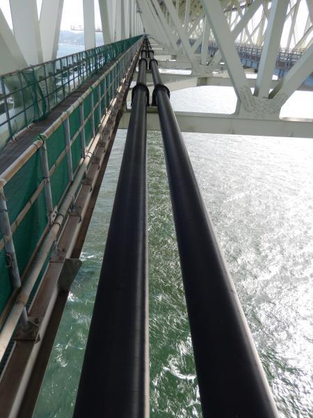 明石海峡大橋 配水管