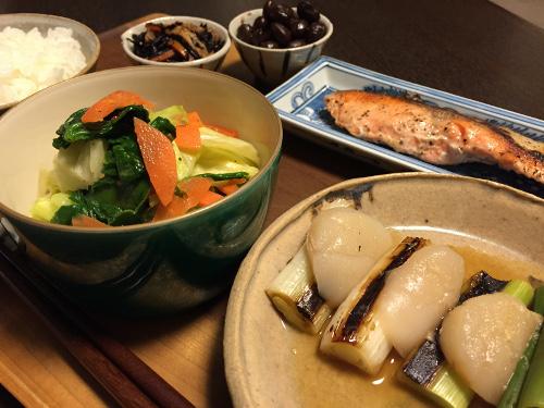 Jan27_帆立と長葱のわさび醤油味