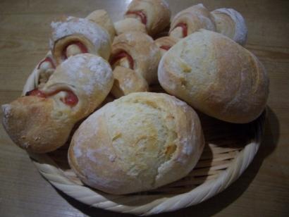 手作りパン(天然酵母エピ)