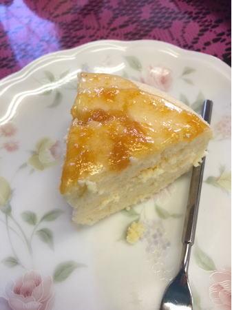 桃まま作チーズケーキ213