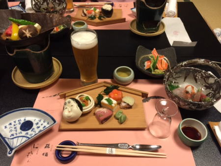 1日目の夕食1