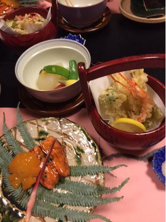 1日目夕食2