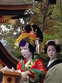 八坂神社 節分2