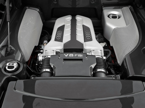 2007-Audi-R8-Engine