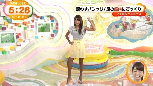 フィンスイミング日本選手権優勝の岡副麻希アナ(23)の足の筋肉が凄い