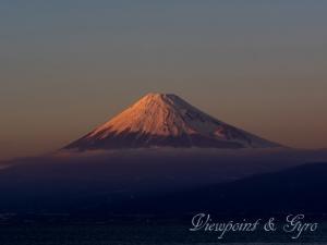戸田海岸 富士山 J