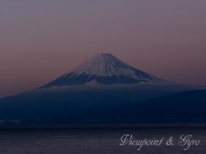 戸田海岸 富士山 K