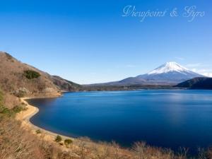 本栖湖と富士山 D