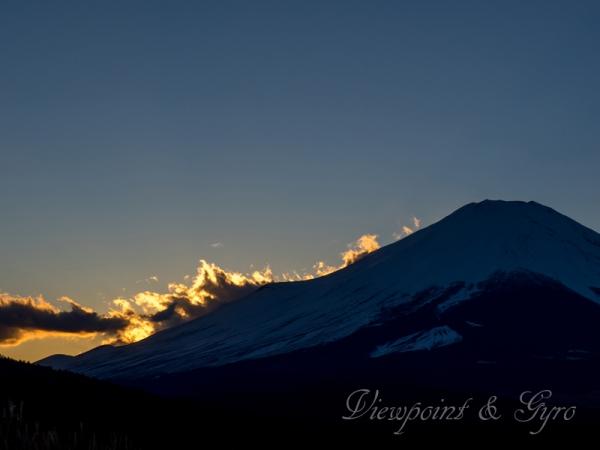 パノラマ台からの富士山 F