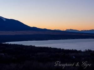 山中湖の夕景 I