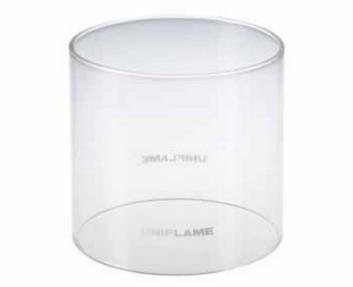 新設計燃焼効率ユニフレーム(UNIFLAME) フォールディングガスランタンUL-X クリアモデル