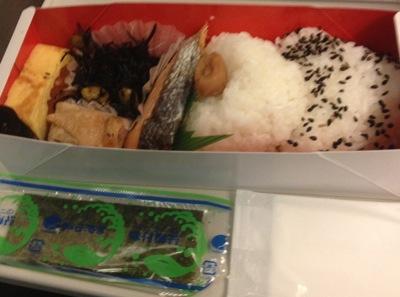 日本の朝食弁当 いただきます