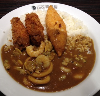 CoCo壱番屋 海三昧カレー