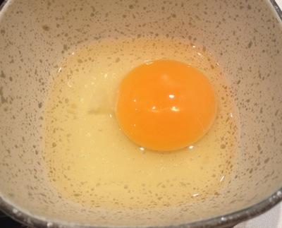 牛すき鍋膳 卵