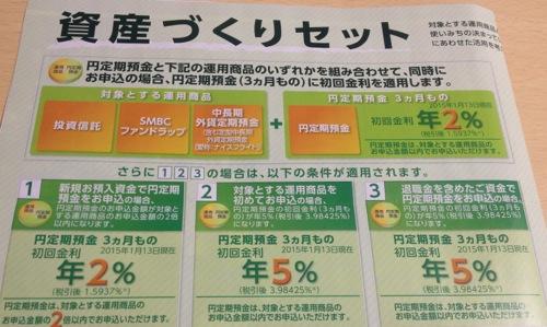 三井住友銀行 資産づくりセット