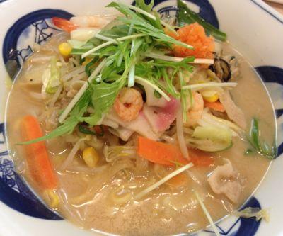 かきちゃんぽん(味噌味)