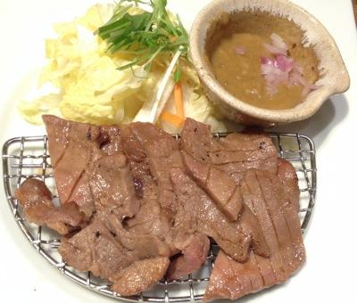 牛タン定食メイン