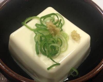 すき家 健康セット・お豆腐