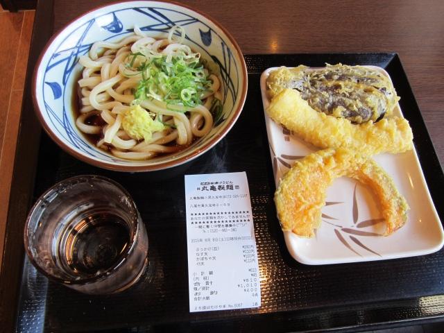 10:38 丸亀製麺(笑)