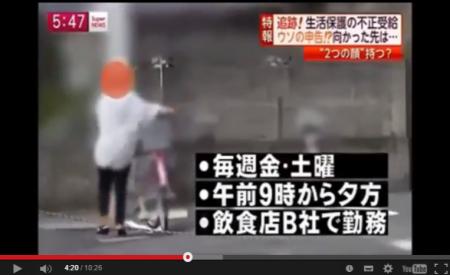 【動画】生活保護費の不正受給・Gメン追跡調査する [嫌韓ちゃんねる ~日本の未来のために~ 記事No2110
