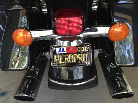 California Legacy Plate