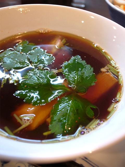 150514紫陽花-醤油つけ麺・つけ汁