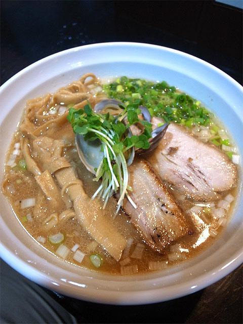 150709こはく-貝汁味噌麺