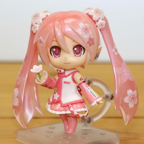 「ねんどろいど 桜ミク Bloomed in Japan」サンプルレビュー (1