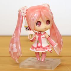 「ねんどろいど 桜ミク Bloomed in Japan」サンプルレビュー (2