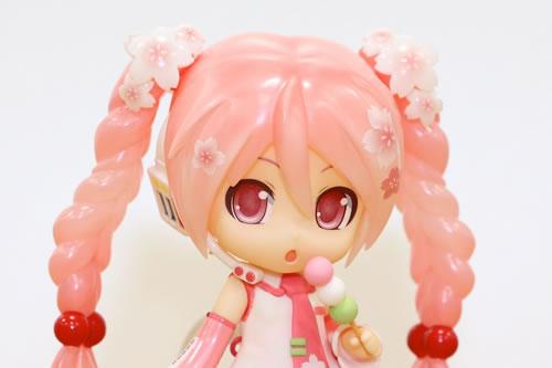 「ねんどろいど 桜ミク Bloomed in Japan」サンプルレビュー (6