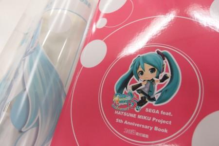 SEGA feat HATSUNE MIKU Project 5th Anniversary Book (2)
