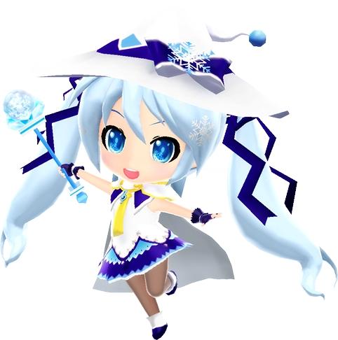 miraiでらっくす 初音ミク Magical Snow Ver