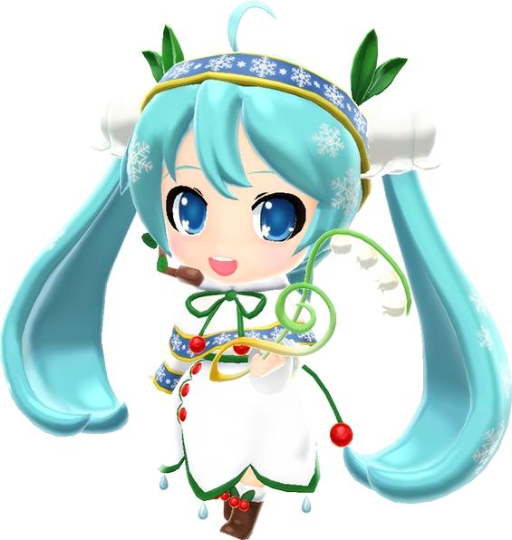miraiでらっくす 初音ミク Snow Bell Ver