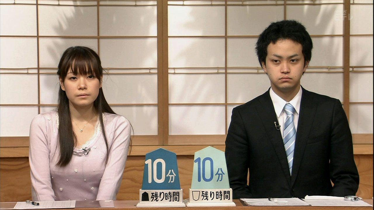 巨乳棋士の藤田綾