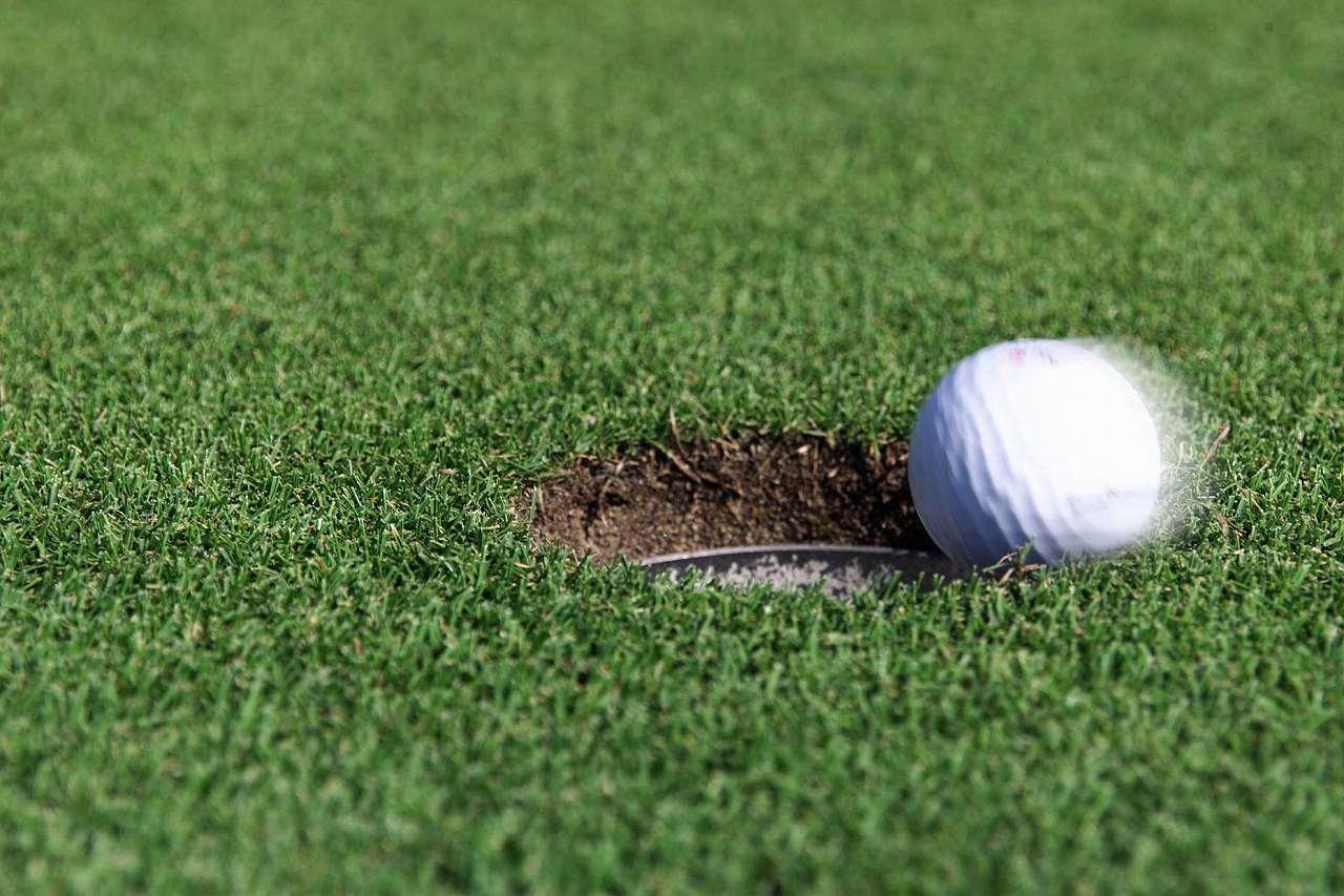 「確実に入ってる」ゴルフボール