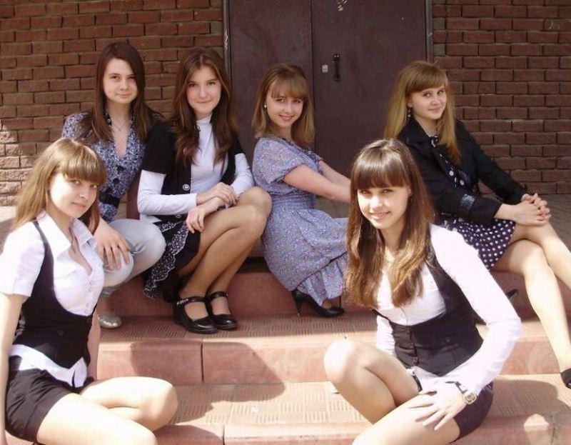 ロシアのセクシーなJK(女子高生)