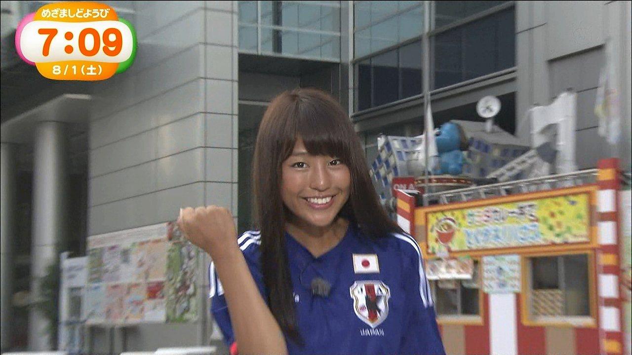 めざましテレビ、更に日焼けした岡副麻希アナ