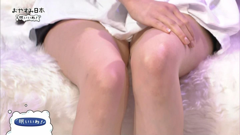 NHK「おやすみ日本」、ショートパンツで丸出しの吹石一恵の太もも